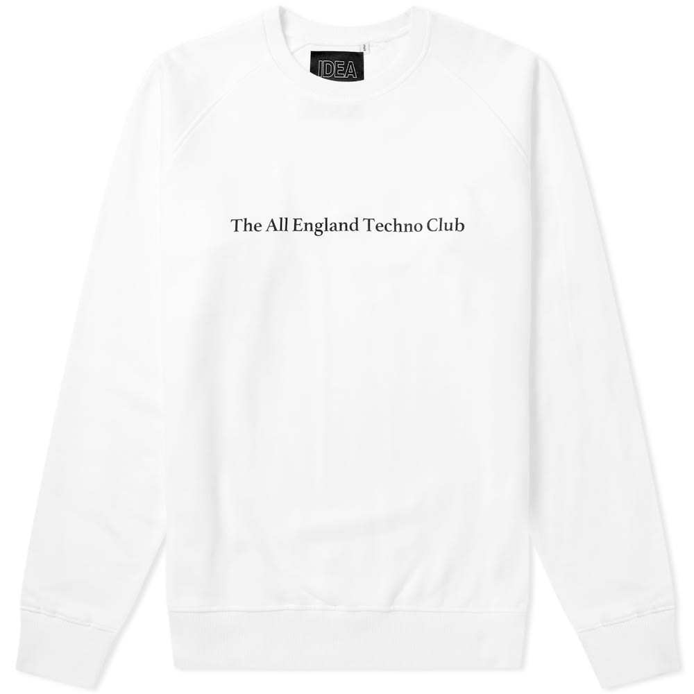 vente chaude en ligne adcda 0e0bc IDEA All England Techno Club Crew Sweat - END. Exclusive