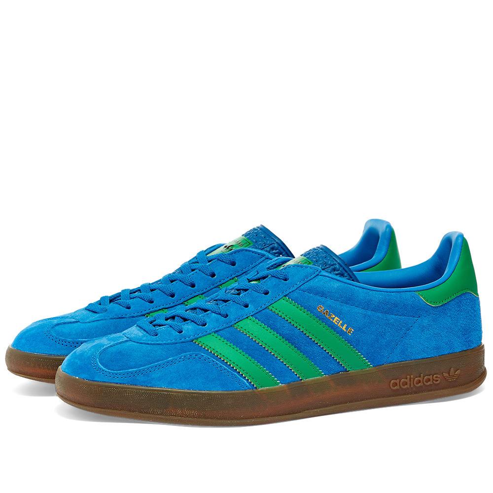 Adidas Gazelle Indoor Lush Blue, Green