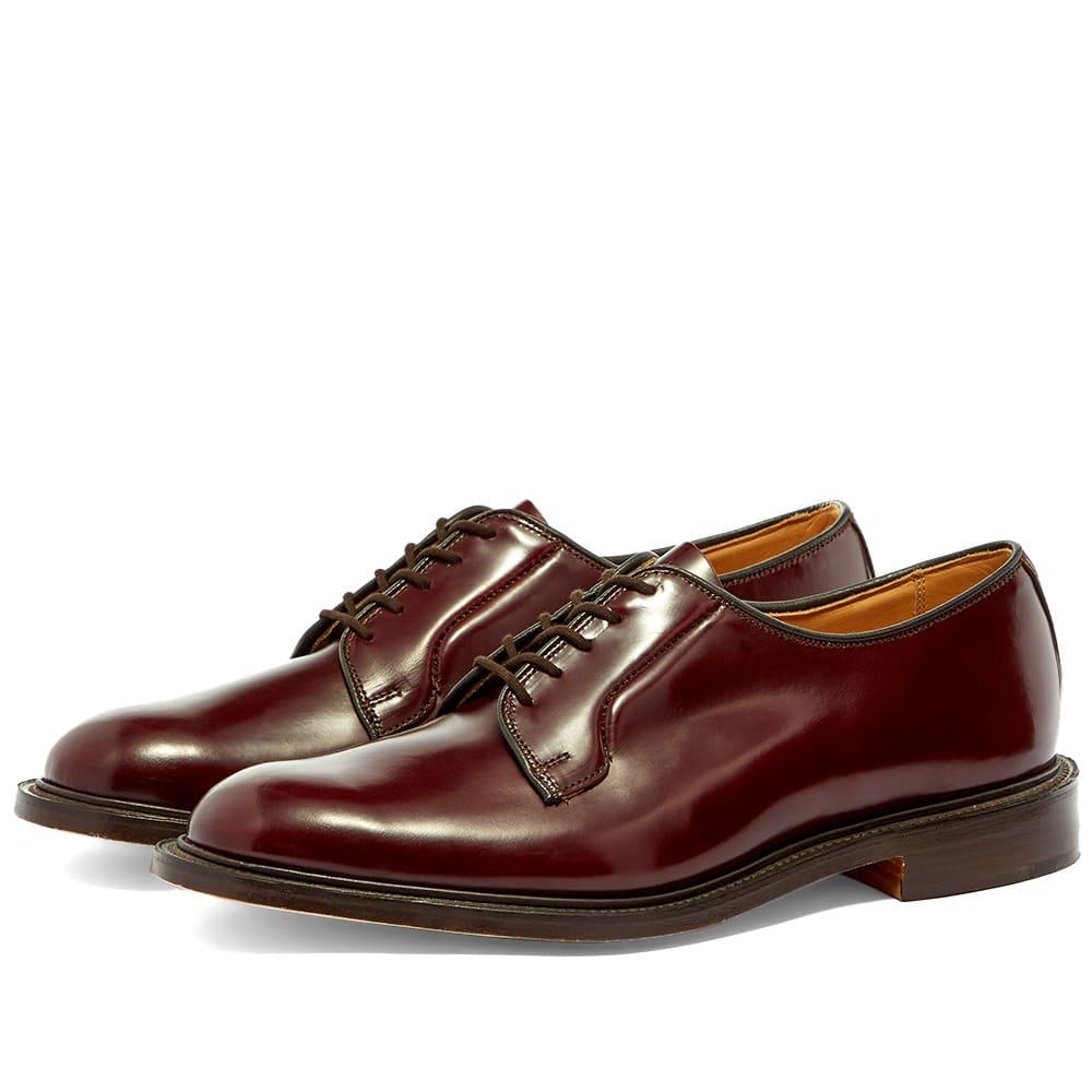 Robert Derby Shoe Burgundy Bookbinder