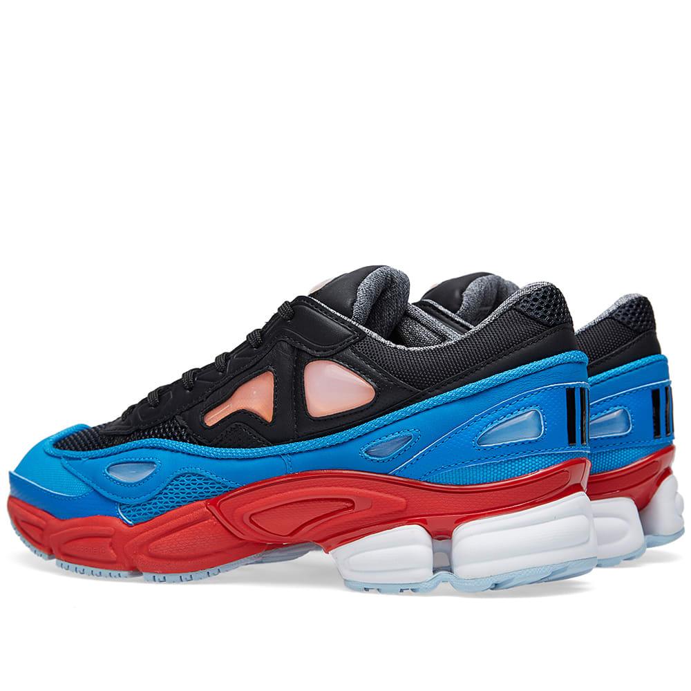 new style c9545 6385a Adidas x Raf Simons Ozweego 2 Black, Red   Lucky Orange   END.