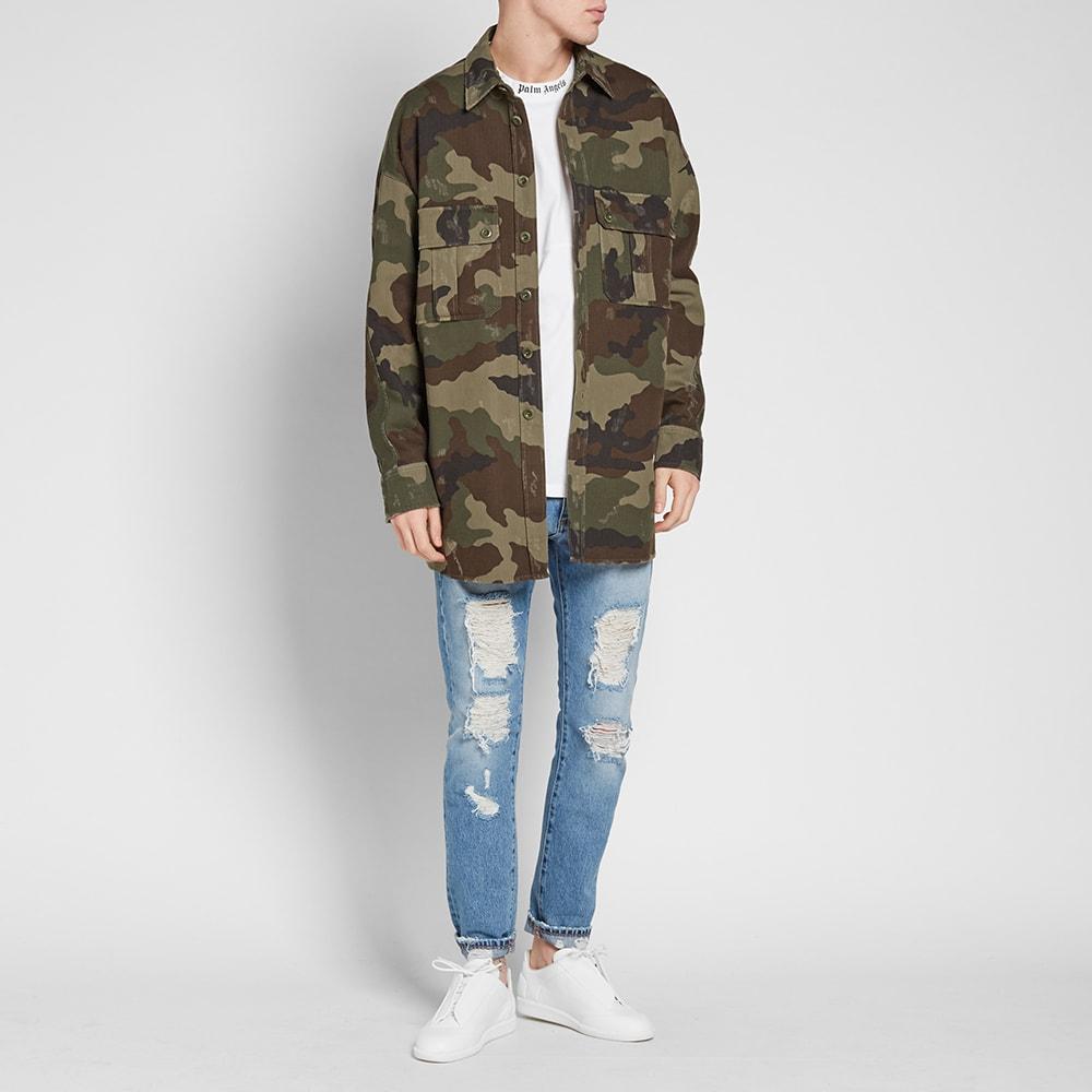 16288670164c6 Faith Connexion Camouflage Kanye West Shirt Army Khaki