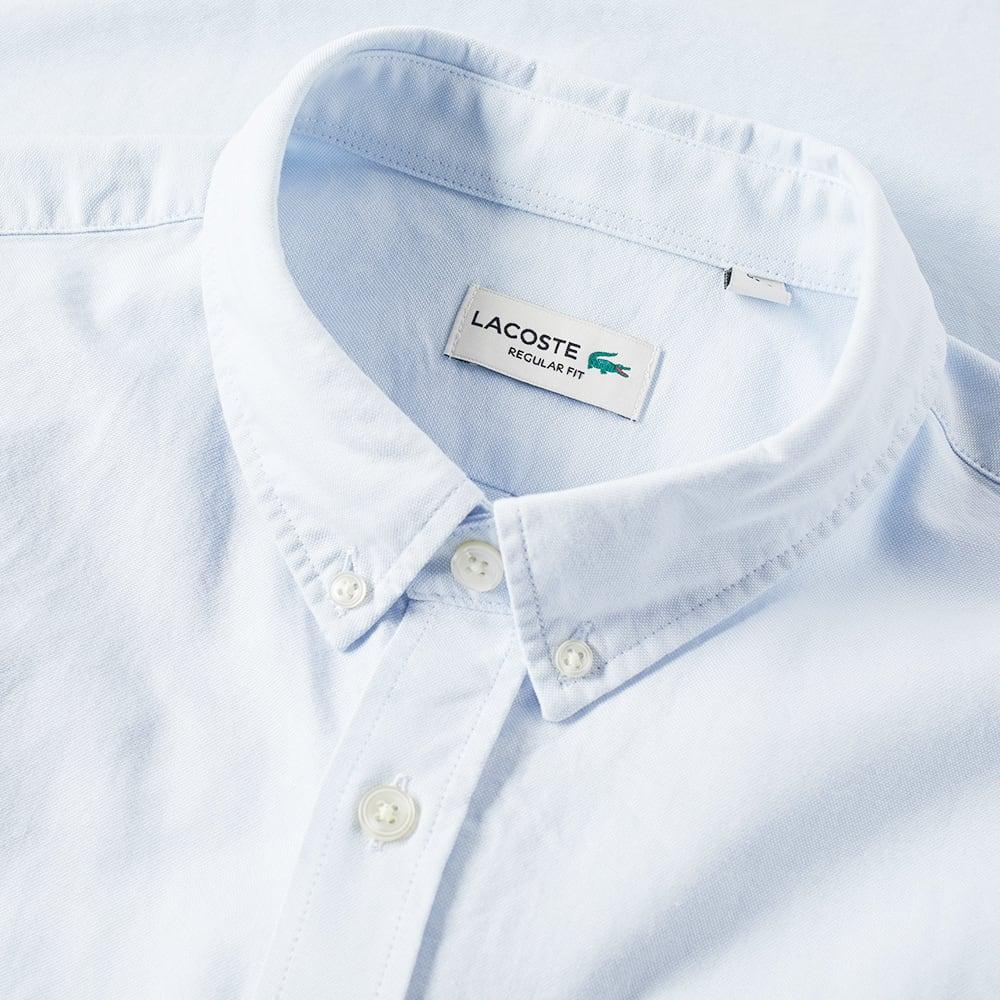 7410d064 Lacoste Short Sleeve Button Down Oxford Shirt