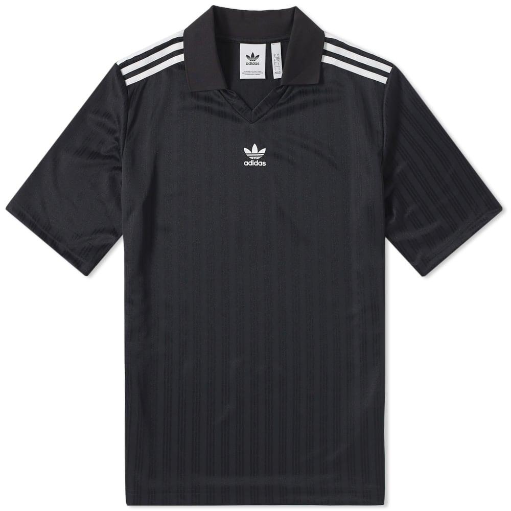 Adidas Originals Adidas Football Jersey In Black Modesens