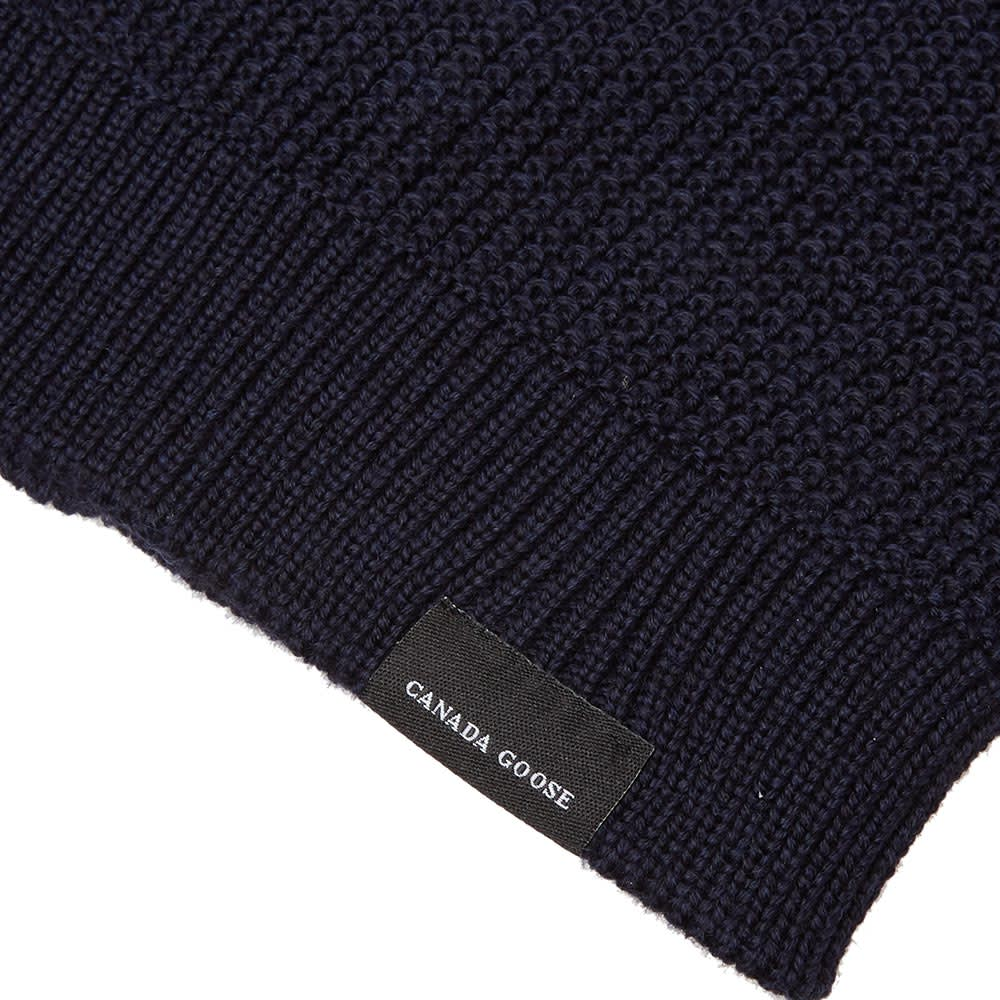26278192678 Canada Goose Waffle Slouch Beanie Navy