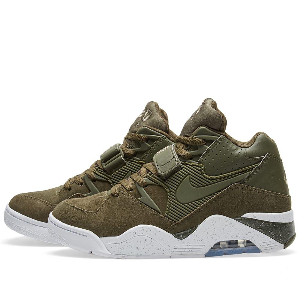 Nike Air Force 180 Cargo Khaki \u0026 White
