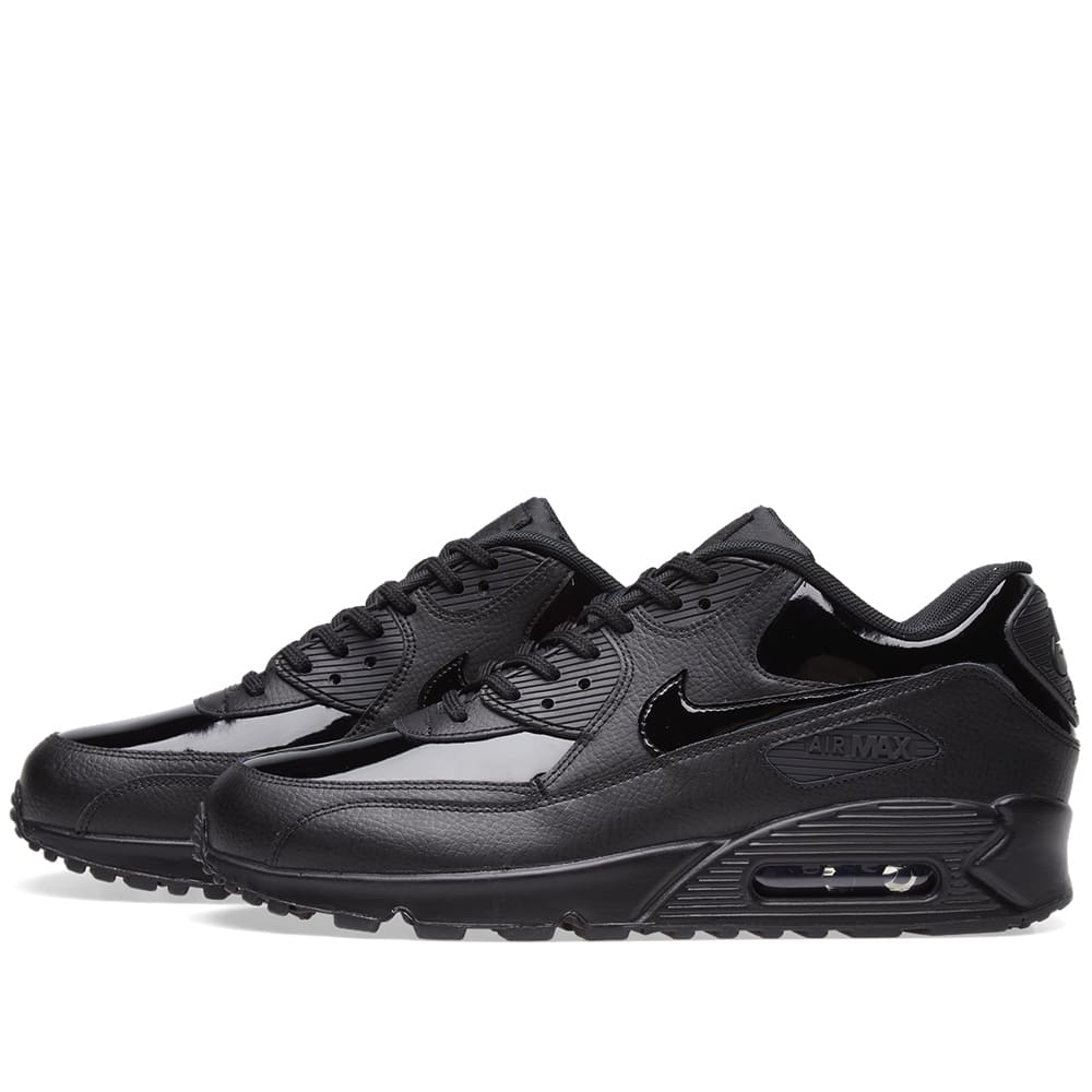low cost 72226 a3fbf Nike Air Max 90 Patent Leather W Black   END.
