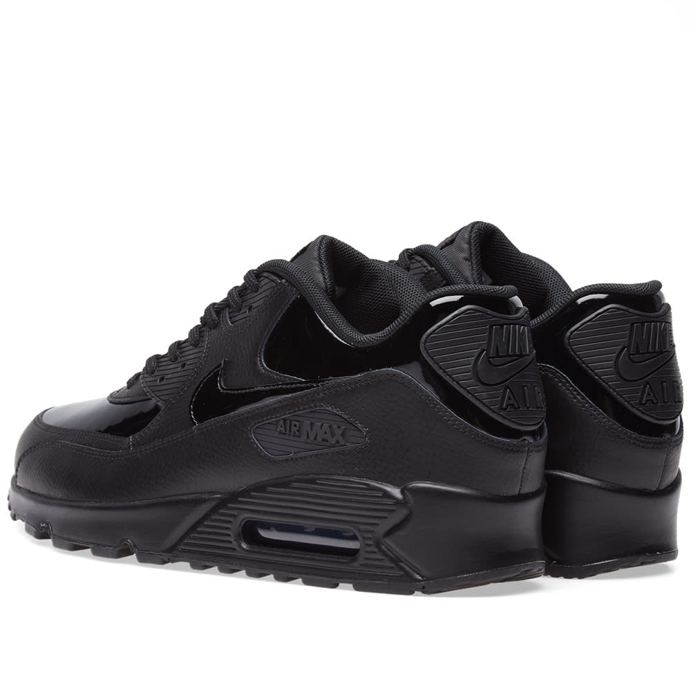 low cost 573e8 4dbd8 Nike Air Max 90 Patent Leather W Black   END.