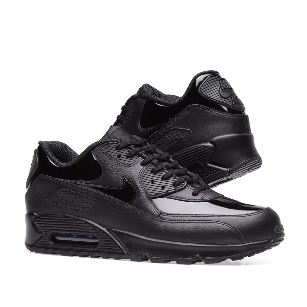 d267bb8e47 Nike Air Max 90 Patent Leather W Black | END.