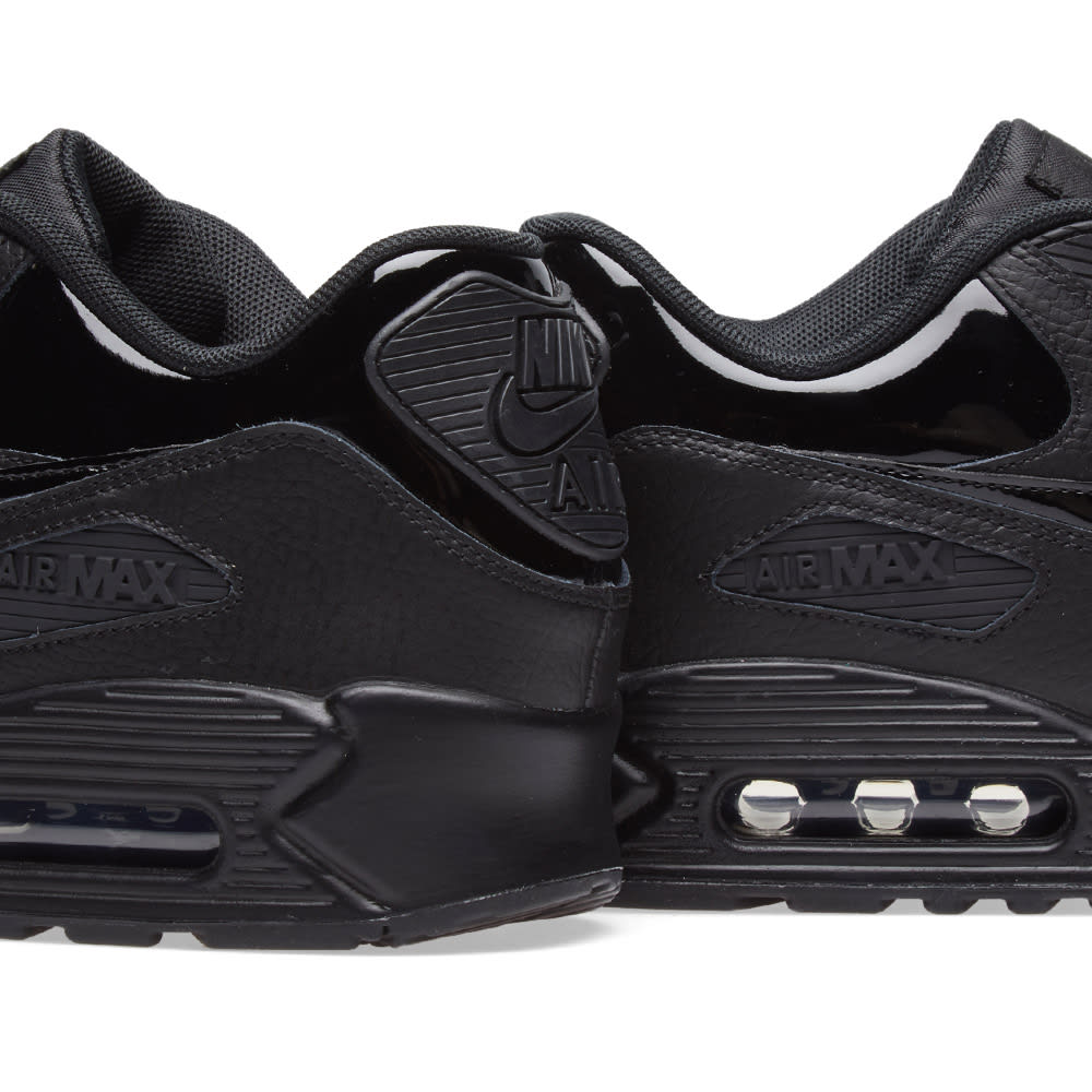 finest selection 870e0 49642 Nike Air Max 90 Patent Leather W Black   END.