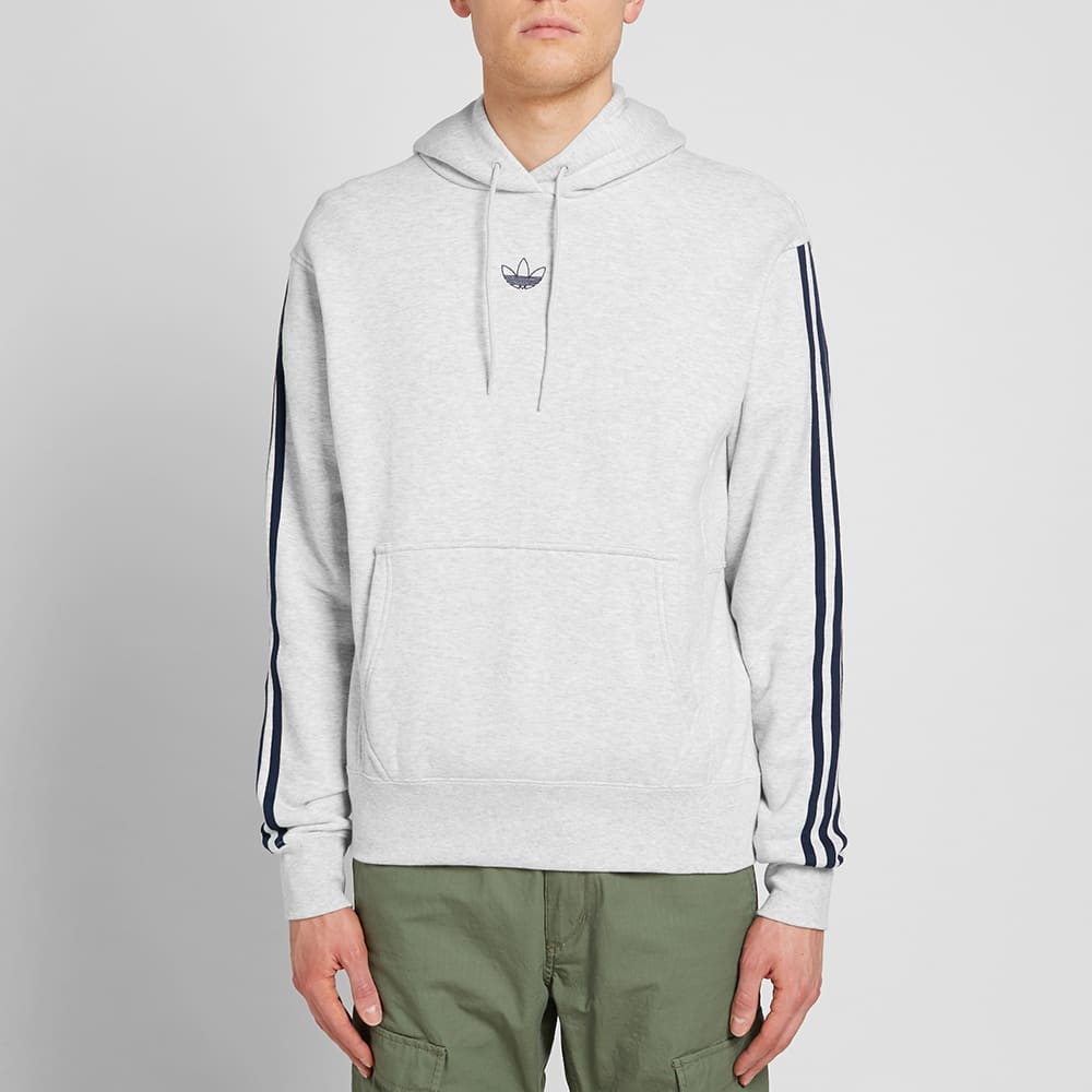 DV3255 Grey Men/'s adidas Off Court Hoodie
