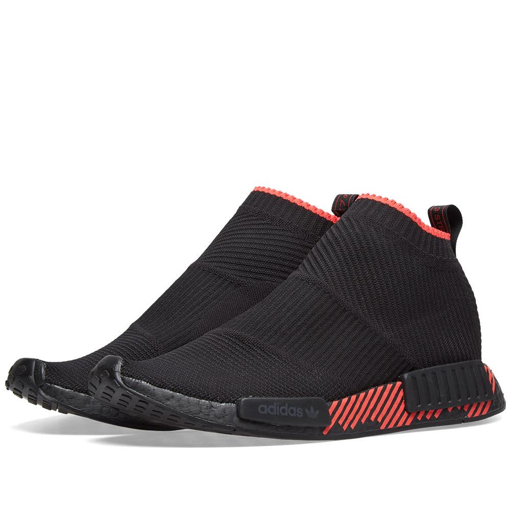 a83767169d7e5 Adidas NMD CS1 PK Core Black   Shock Red