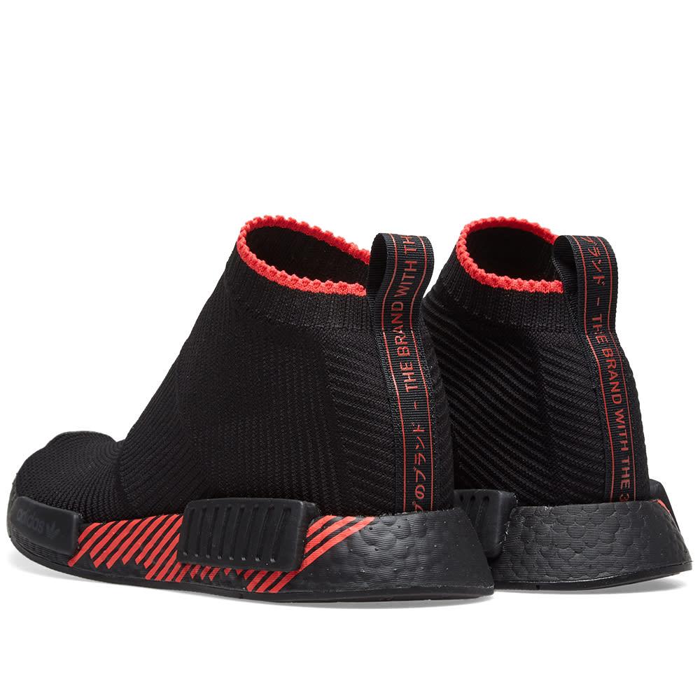 8459814acae9f Adidas NMD CS1 PK Core Black   Shock Red