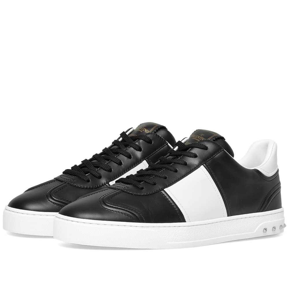 Valentino Fly Crew Leather Sneaker
