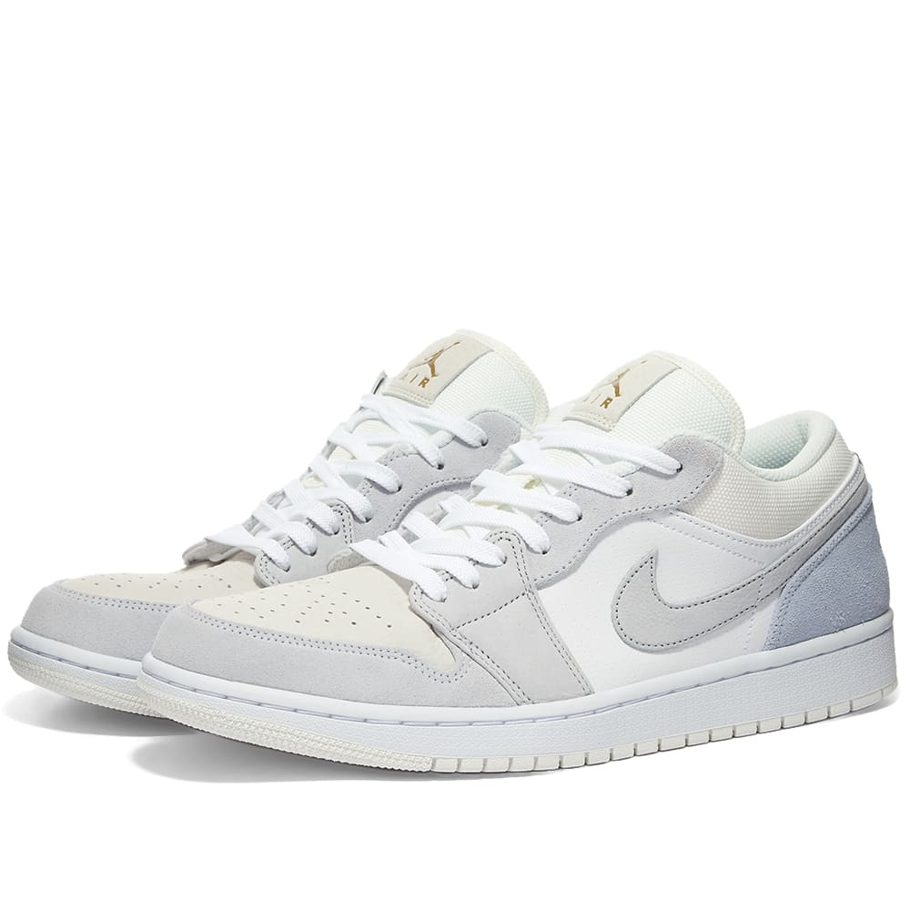 Air Jordan 1 Low Paris White Grey Blue End