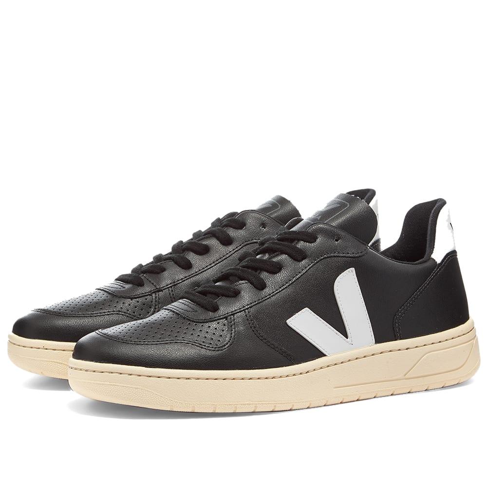Veja V-10 Vegan Sneaker Black \u0026 White