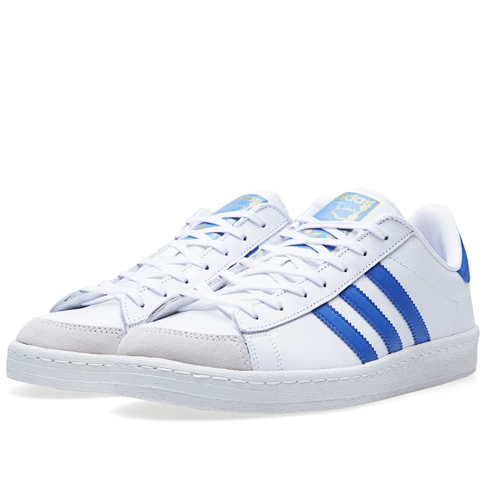 half off 33936 be706 Adidas Jabbar Lo Running White   Air Force Blue   END.