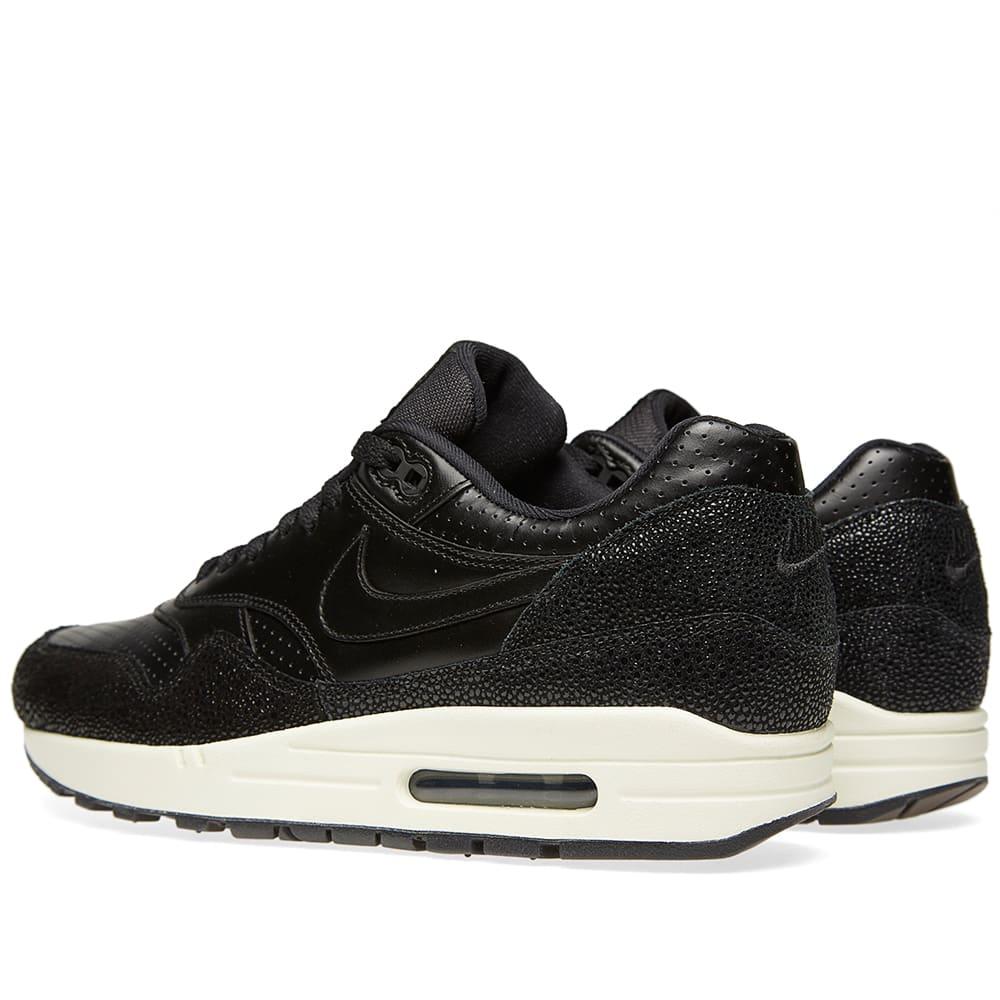 Nike Air Max 1 Caviar Leather 705007 001 Stingray