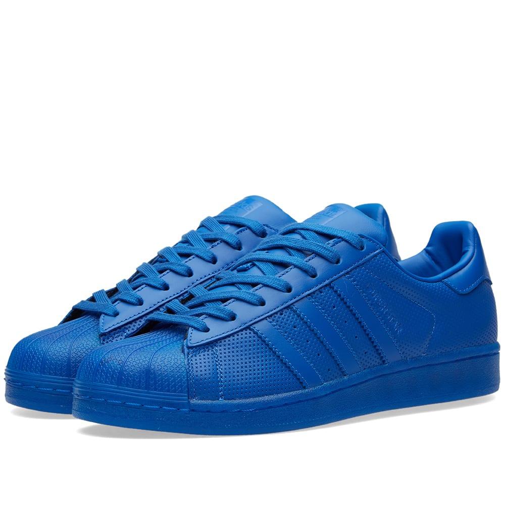 adidas superstar adicolor blue