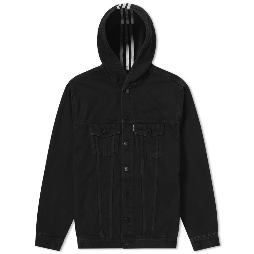 ADIDAS CONSORTIUM Adidas Consortium X Naked Denim Jacket W in Black