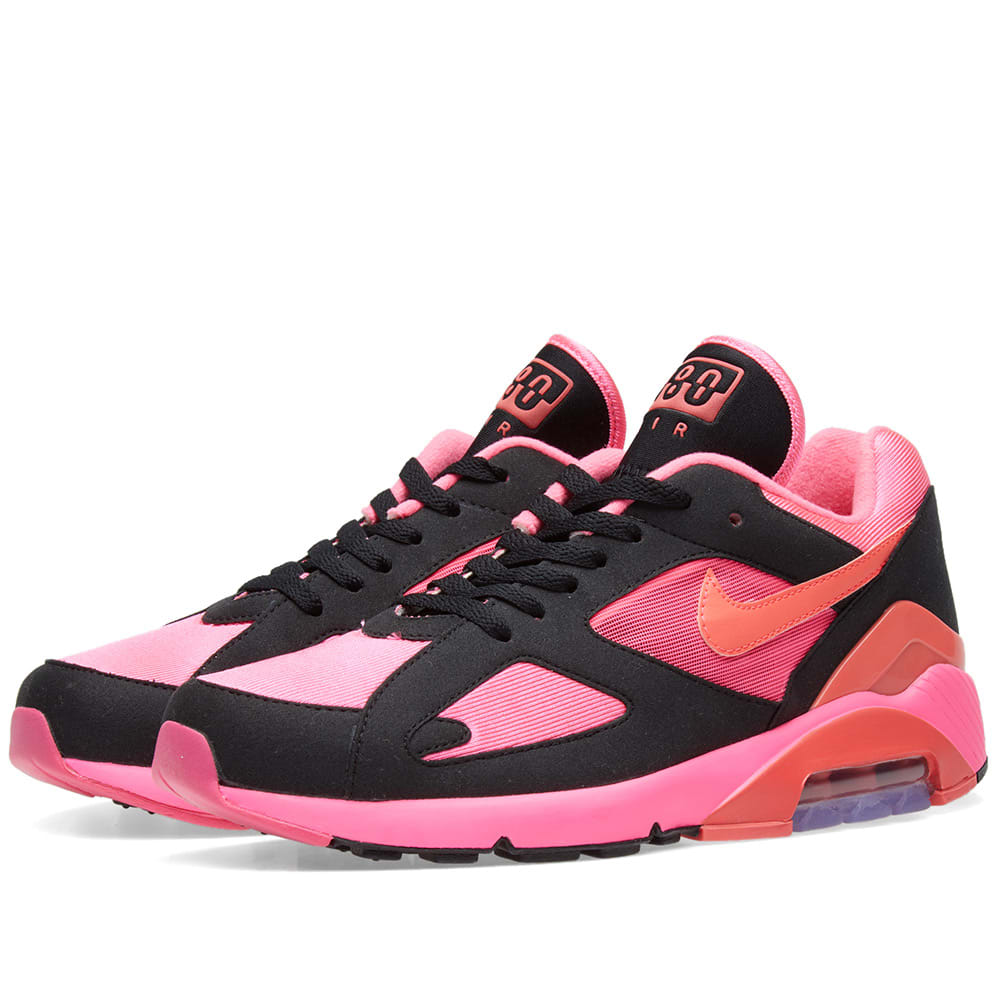 buy popular e7544 1b348 Comme des Garcons x Nike Air Max 180 Black   Pink   END.