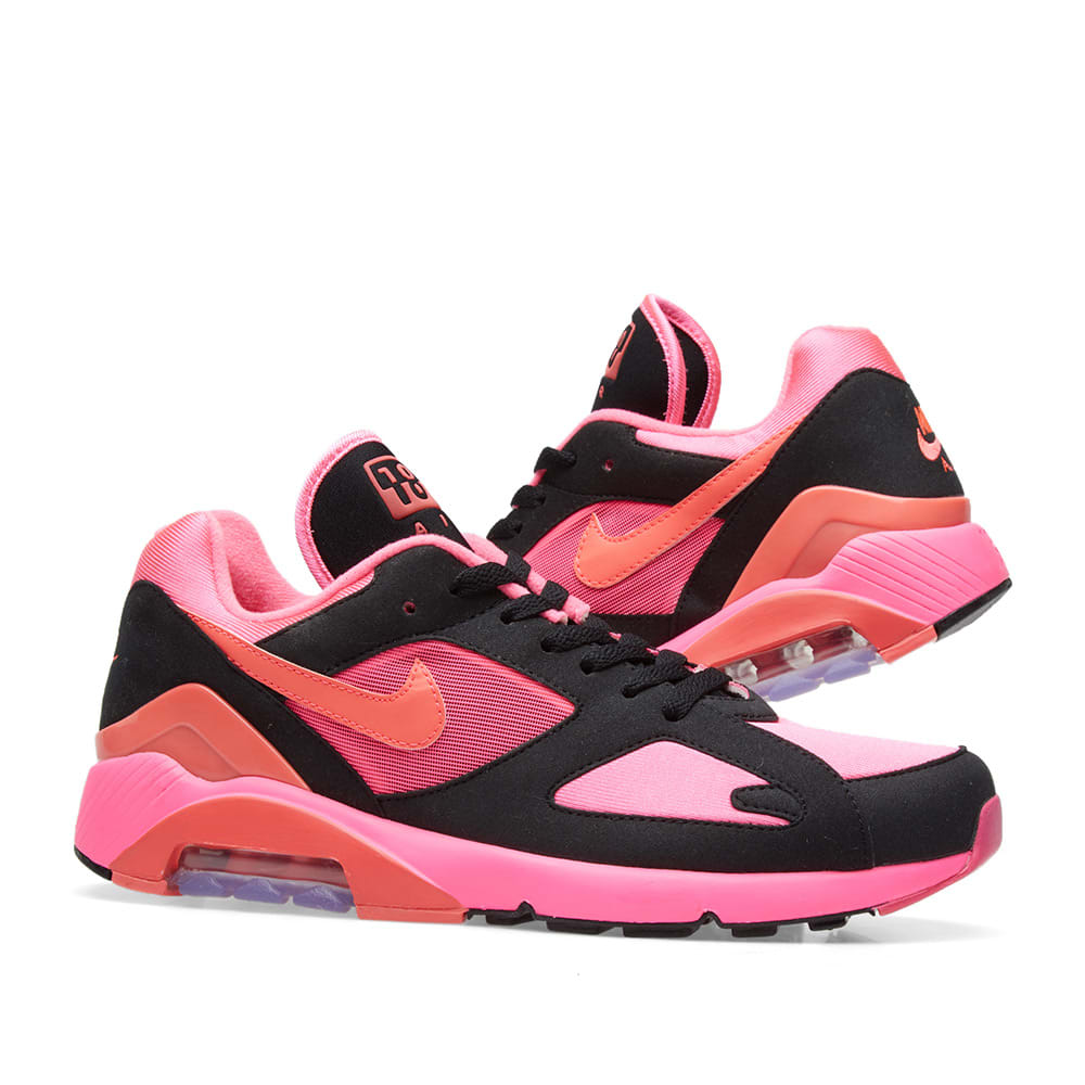 quality design 6f6a8 970a3 Comme des Garcons x Nike Air Max 180. Black   Pink