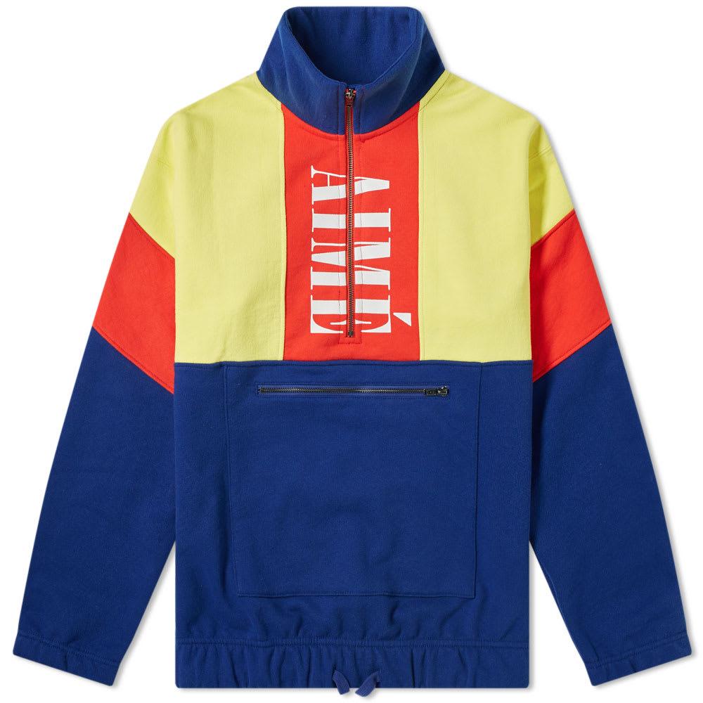 Aime Leon Dore Colour Block Quarter Zip Pullover