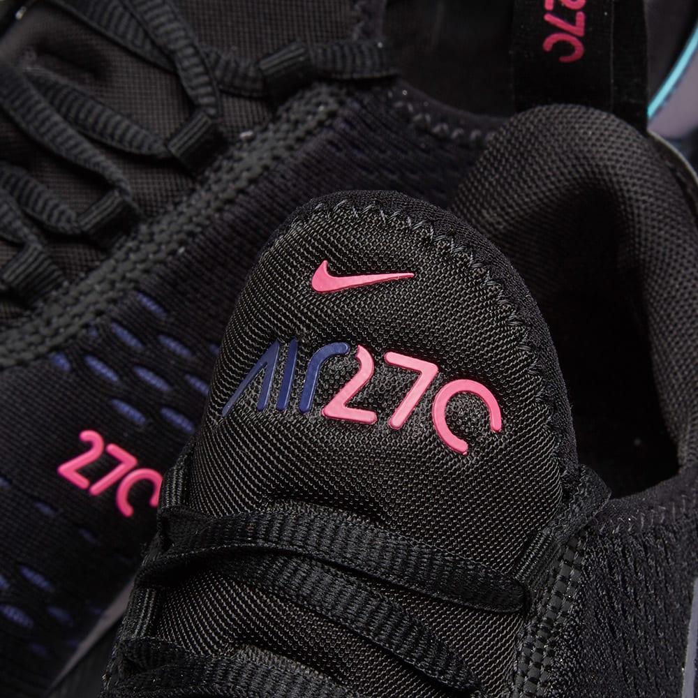 air max 270 womens black and purple