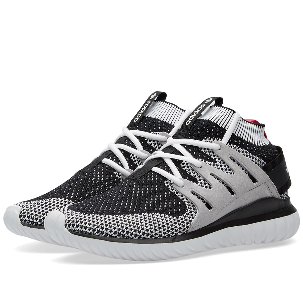 Dejlig Adidas Tubular Nova Primeknit White & Core Black | END. QT-23