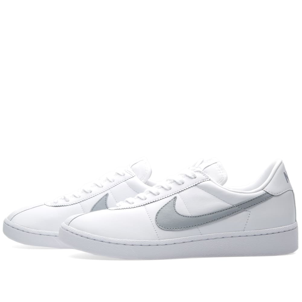 paralelo los referencia  NikeLab Bruin Leather White & Wolf Grey   END.