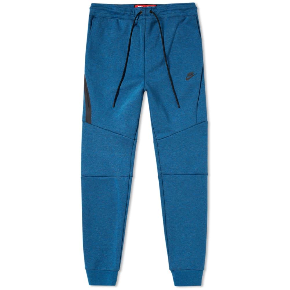 f21ec7094a92 Nike Tech Fleece Jogger Industrial Blue   Black