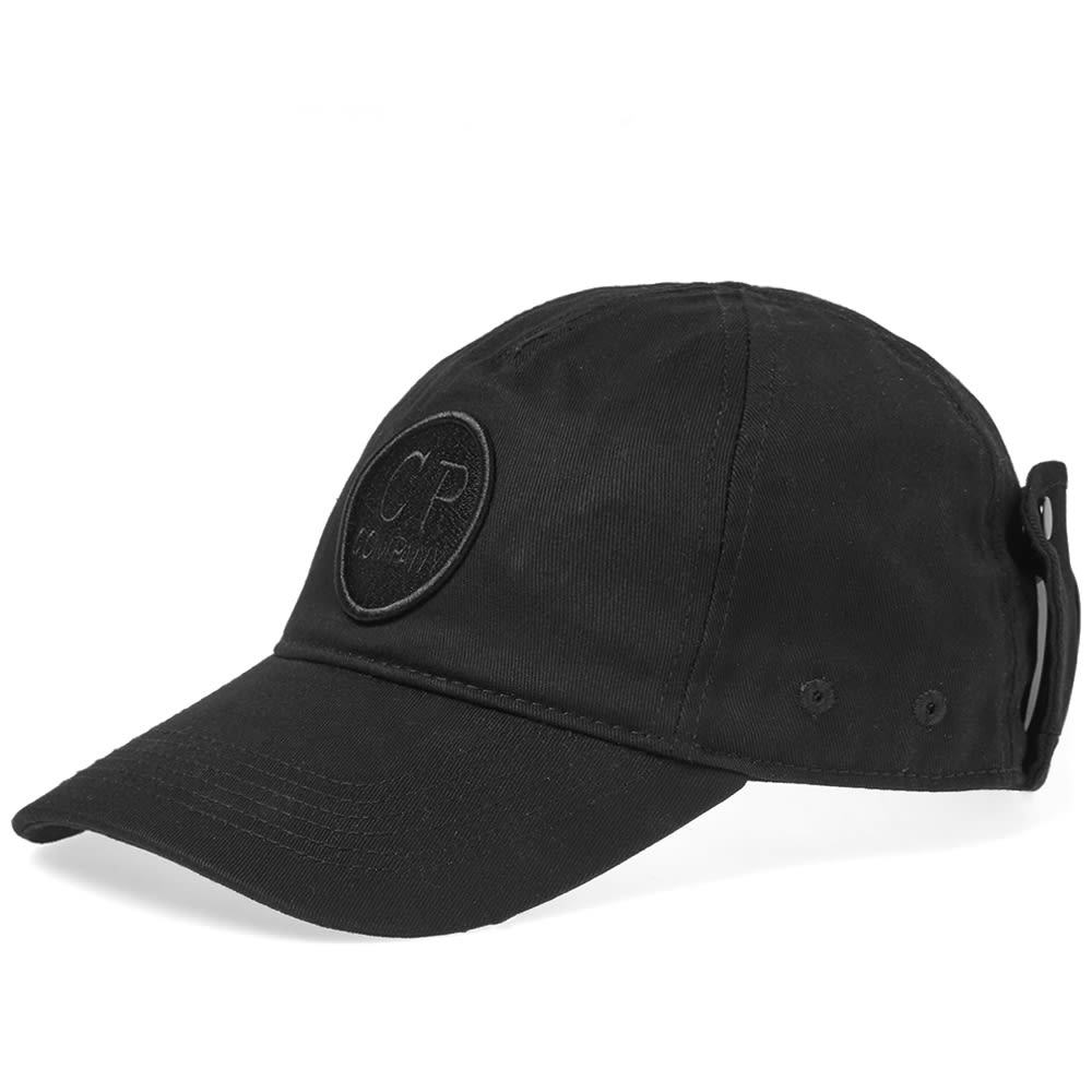 2e0e179e C.P. Company Undersixteen Goggle Baseball Cap Black | END.