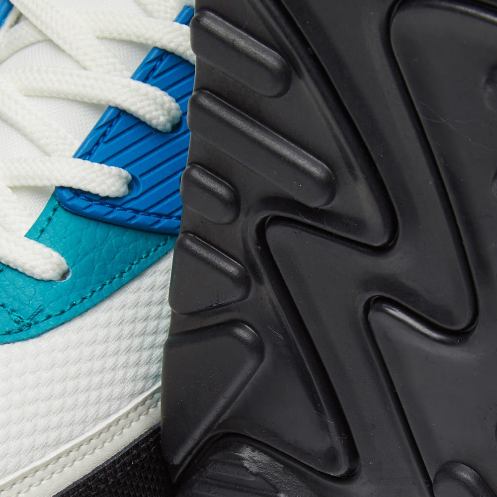 new concept c7d35 8bda0 Nike Air Max 90 W Sail, Emerald   Blue Nebula   END.