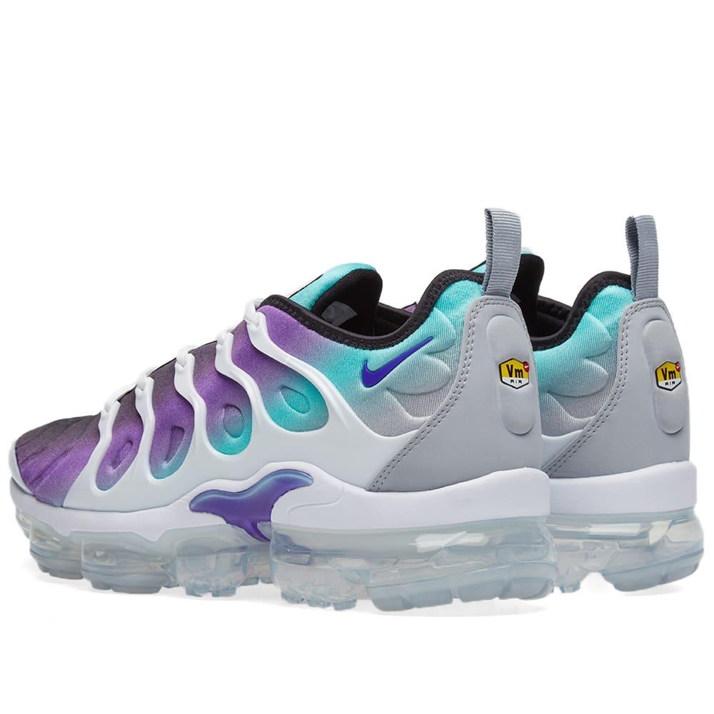 79a92704292 Nike Air VaporMax Plus Fierce Purple   Aurora Green