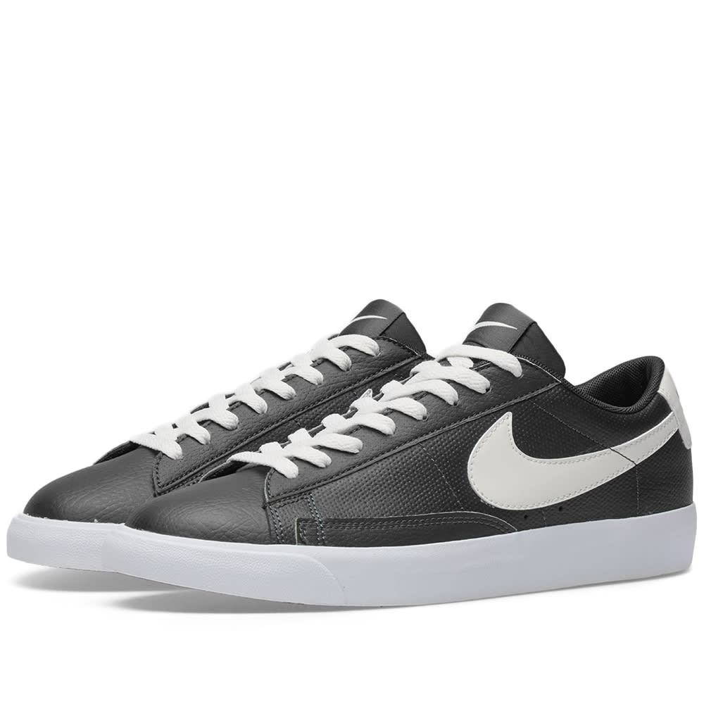 reputable site 7f6ea d3a9b Nike Blazer Low Leather Black, Sail   Gum Brown   END.