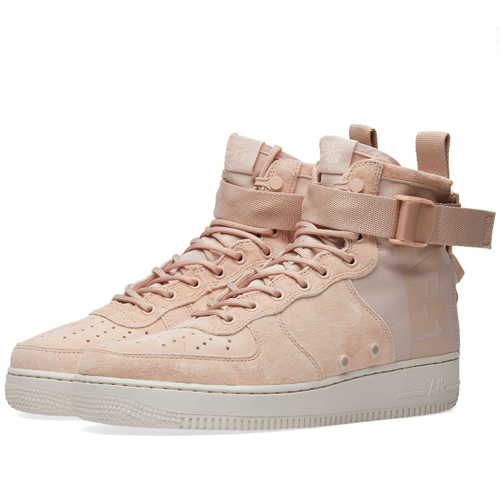 Nike Sf Air Force 1 Suede Sneakers In Pink | ModeSens