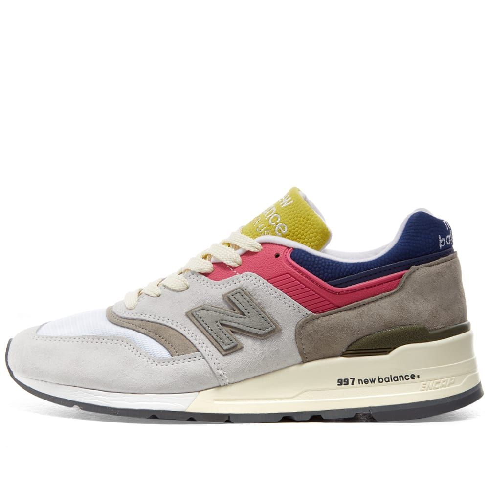 507a6917 New Balance x Aime Leon Dore M997ALL - Made in USA Grey | END.