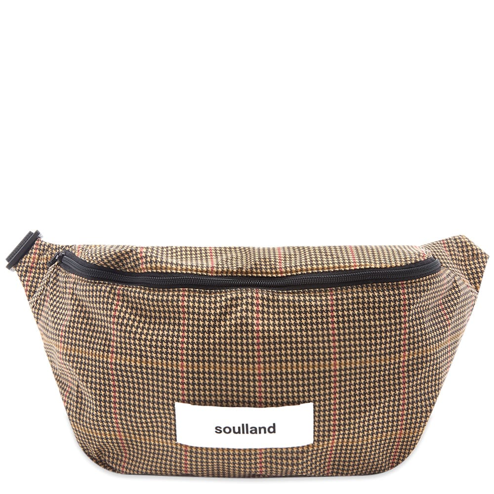 Soulland Houndstooth Waist Bag by Soulland