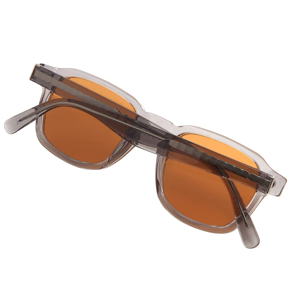 45b147cd3f16 SUPER by RETROSUPERFUTURE Luce Sunglasses Black Crystal & Brown | END.