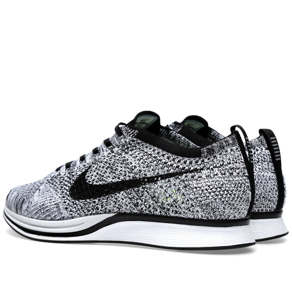 newest collection b9c4f 88664 Nike Flyknit Racer White, Black   Volt   END.