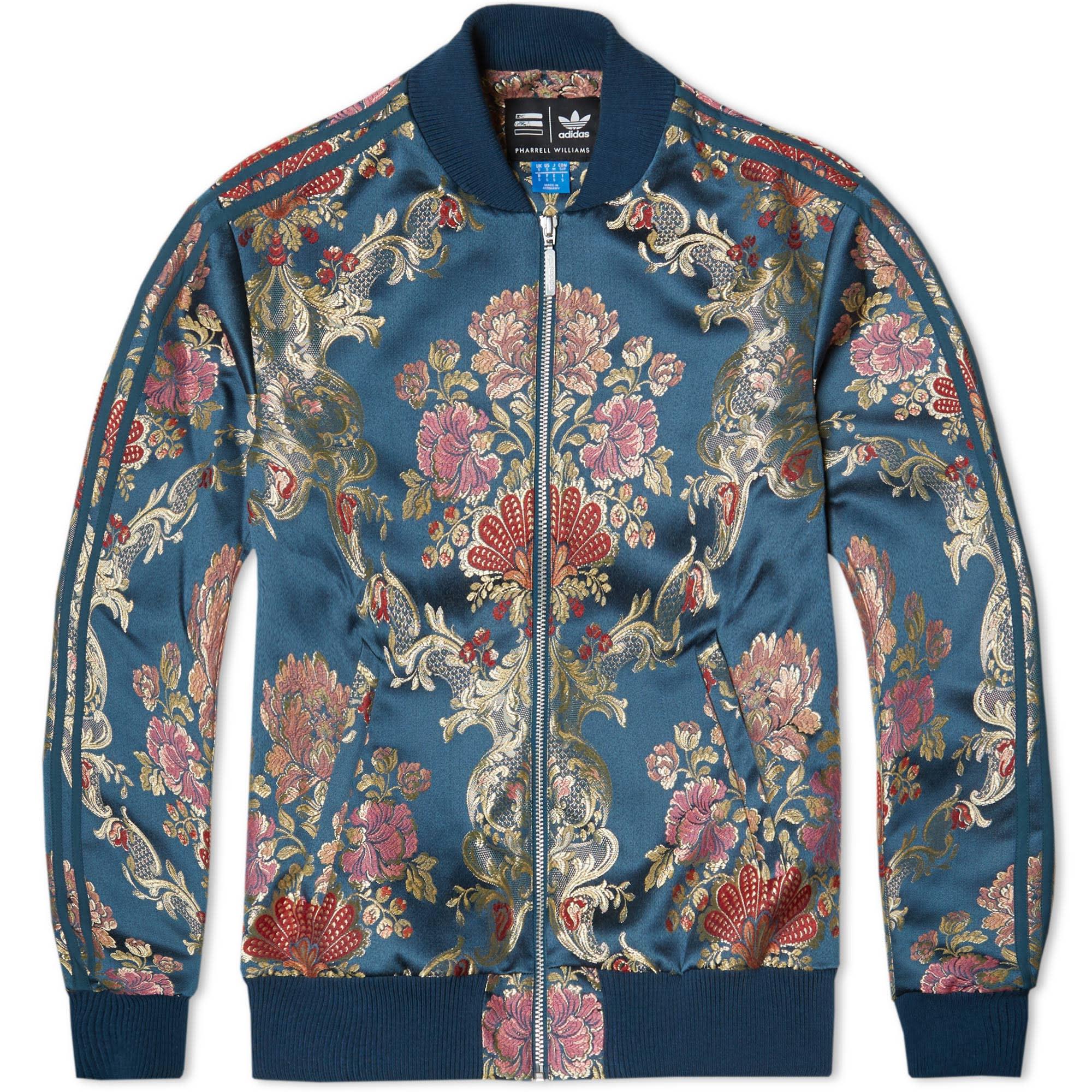 size 7 outlet new styles Adidas x Pharrell Jacquard Track Jacket