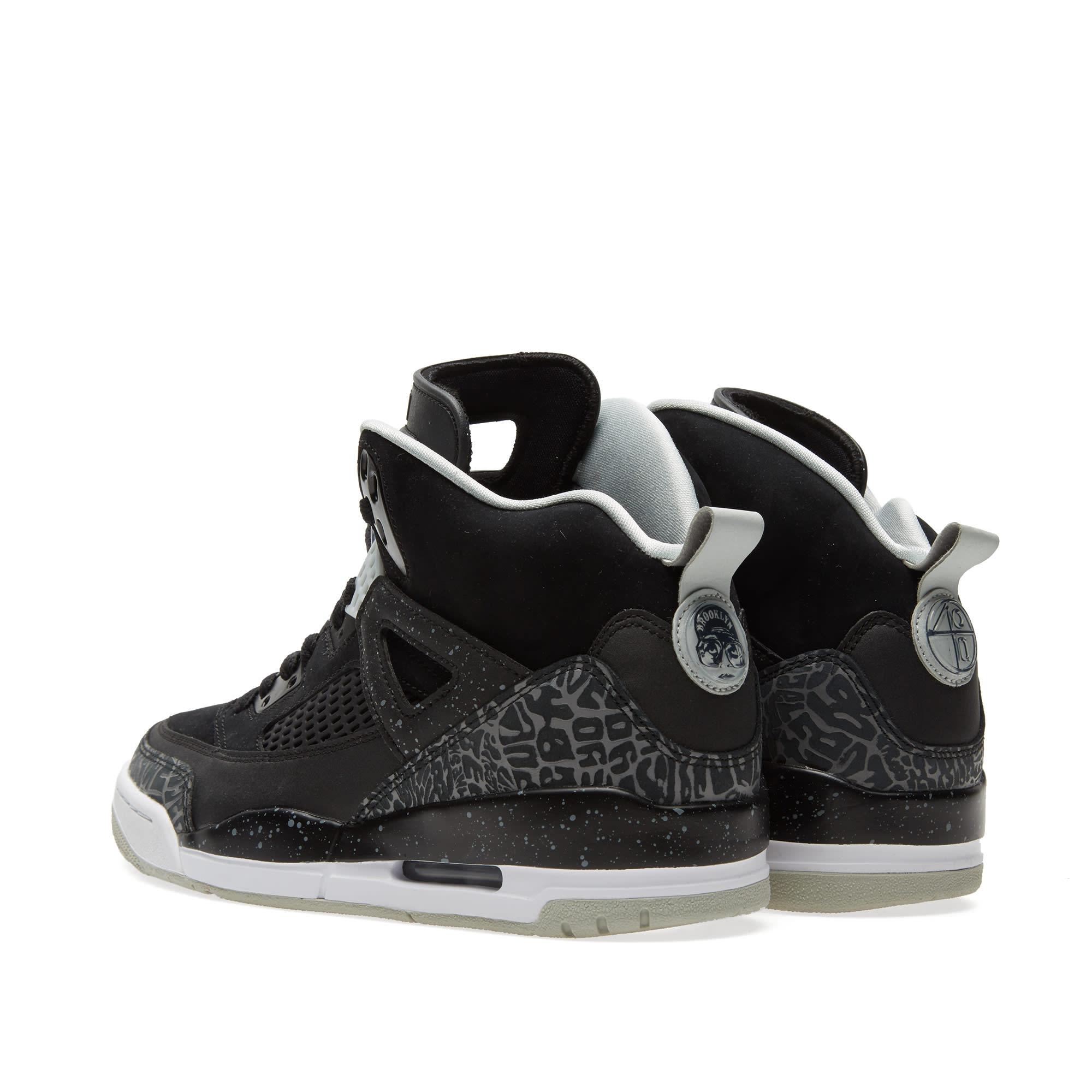 official photos 0b9c6 1f696 Nike Jordan Spizike 'Cool Grey' Black, Cool Grey & Grey Mist | END.