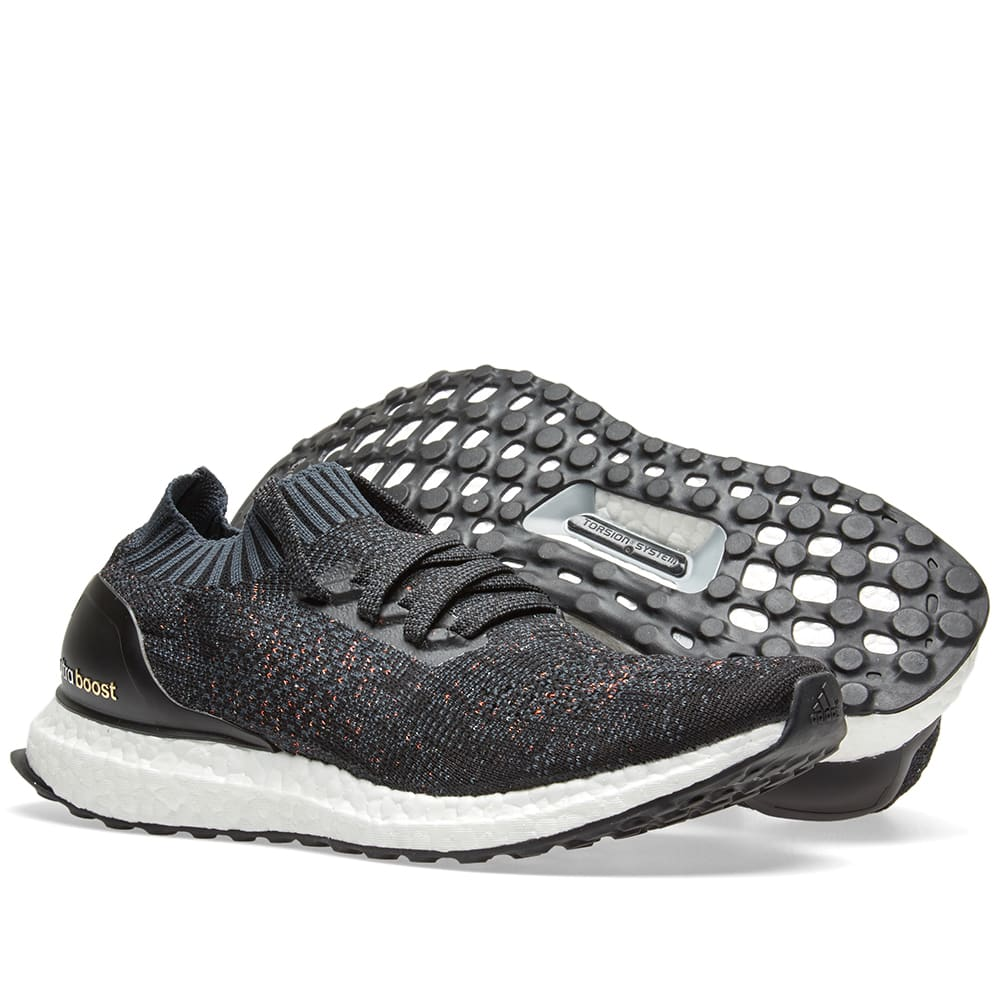 4bd4371e18384 Adidas Women s Ultra Boost Uncaged Core Black   Dark Grey
