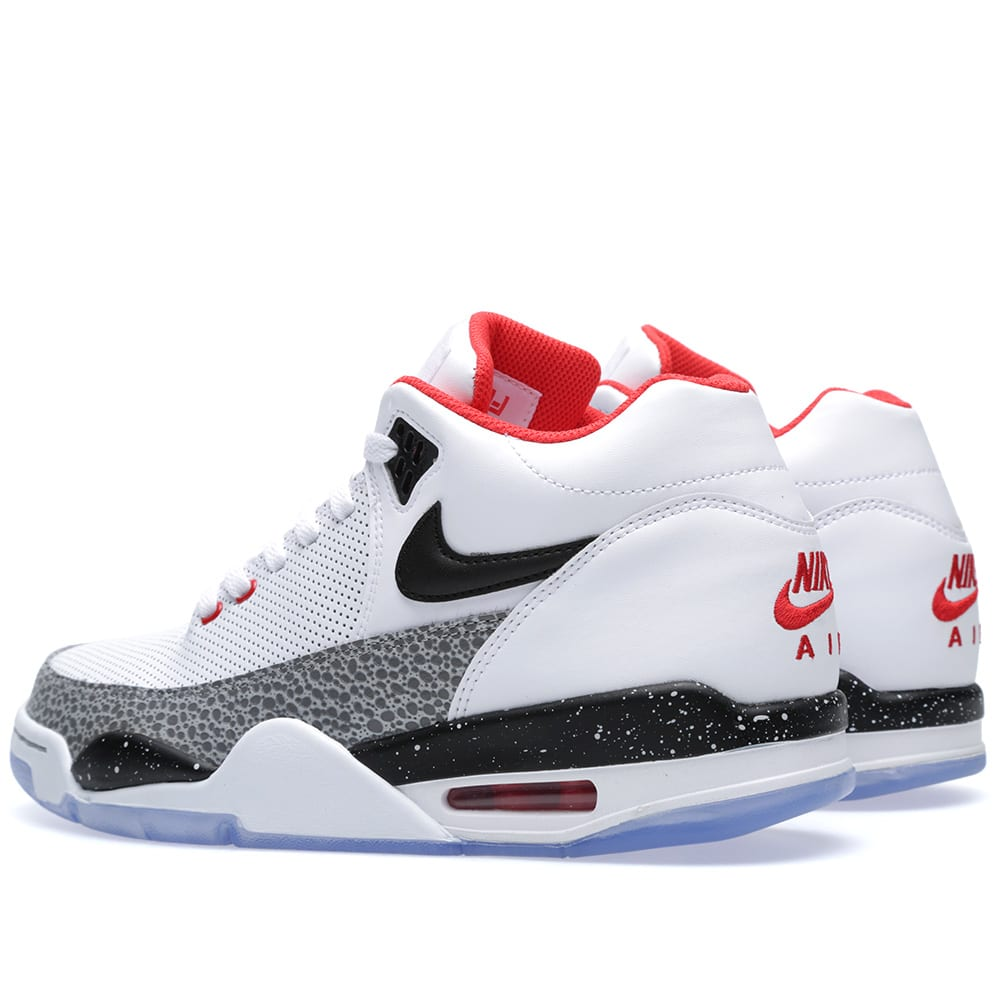 new products 42395 adea8 Nike Flight Squad QS White, Black & Wolf Grey | END.