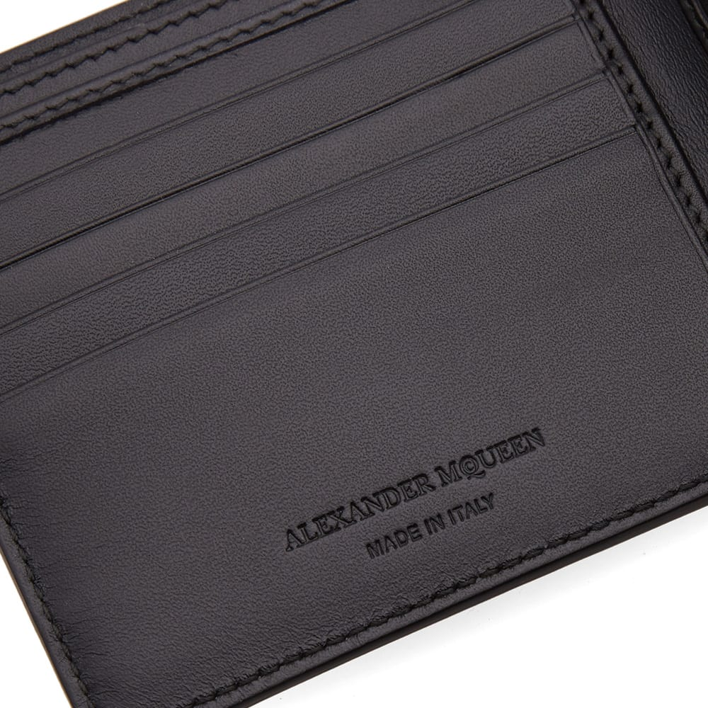 adddd40fa6fc2 Alexander McQueen Camouflage Billfold Wallet Black & Military Green | END.