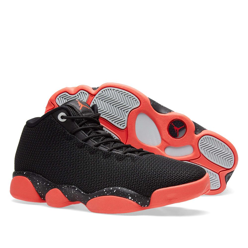 premium selection c583e c0504 Nike Air Jordan Horizon Low. Black   Infrared