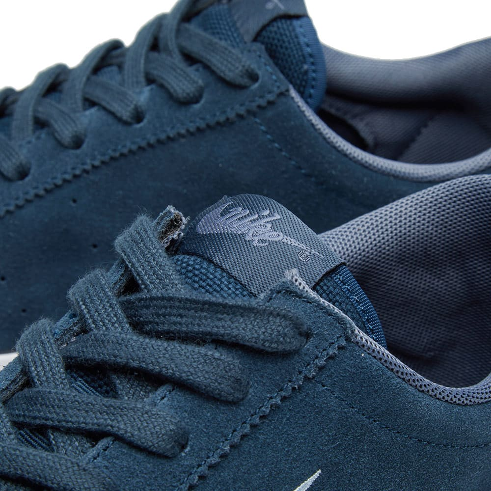meet 034ae 5bc9a Nike Match Classic Suede Armory Navy   Blue   END.
