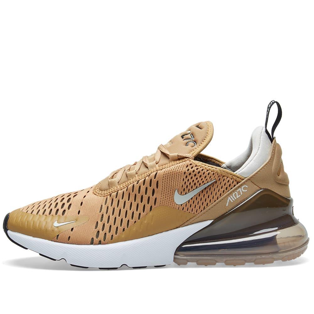hot sale online 4f5f1 236f0 Nike Air Max 270 Elemental Gold, Black   Bone   END.