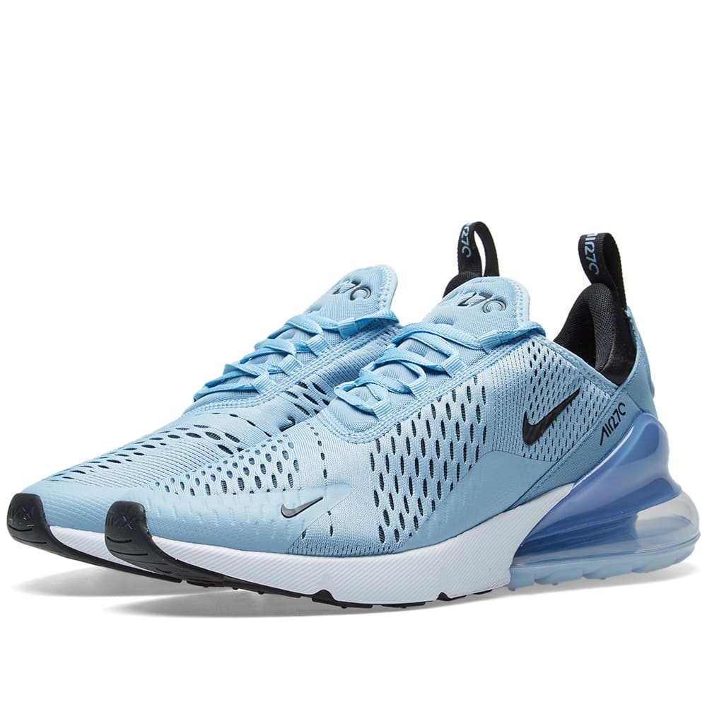 official photos sale usa online latest design Nike Air Max 270 Leche Blue, Black & Aluminium | END.