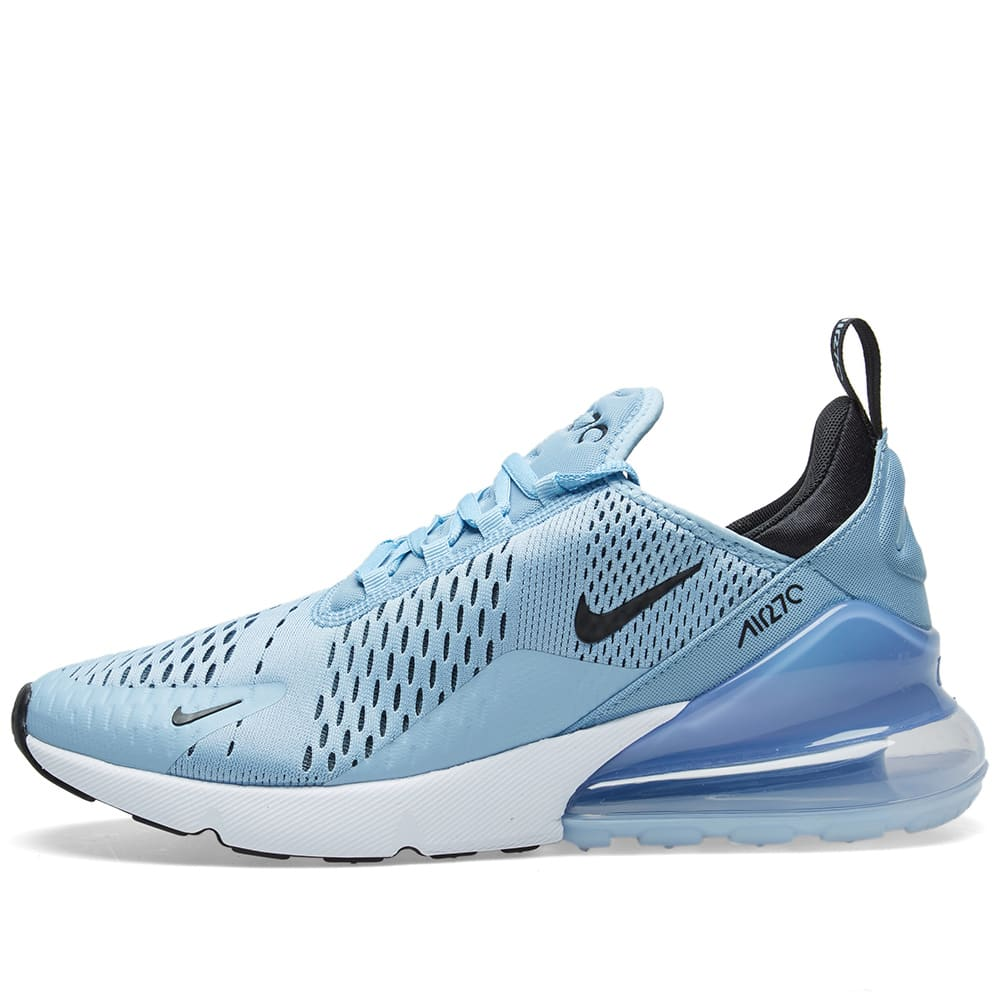 brand new 1e130 c0e54 Nike Air Max 270 Leche Blue, Black   Aluminium   END.