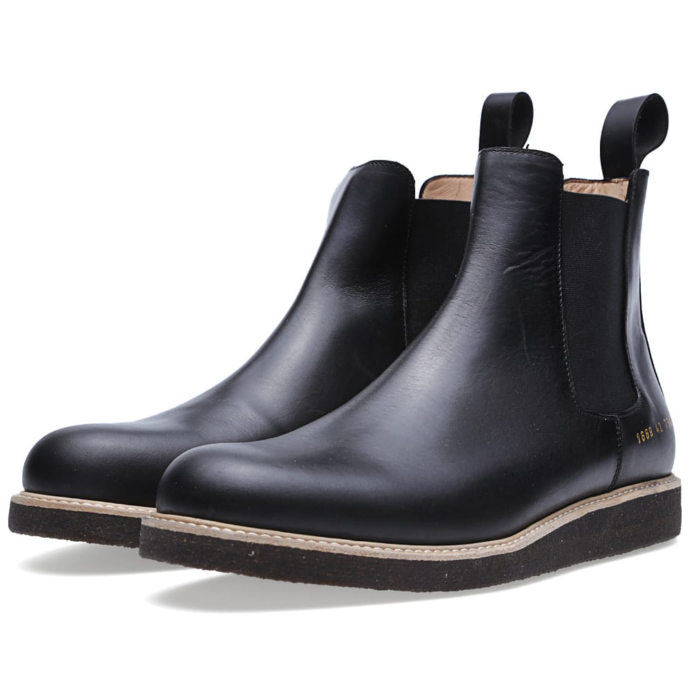 common projects chelsea boot black. Black Bedroom Furniture Sets. Home Design Ideas